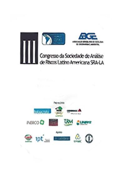 III Congresso da Sociedade de Análise de Riscos Latino Americanos